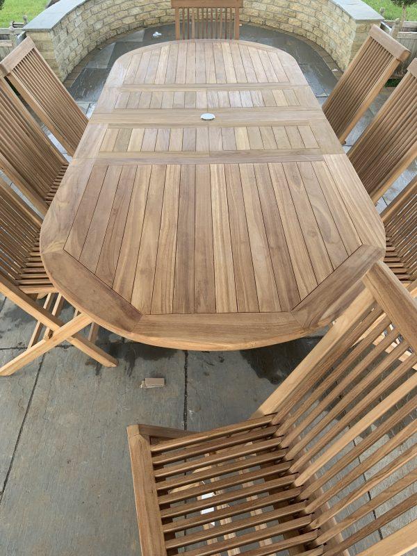 teak outdoor dining set