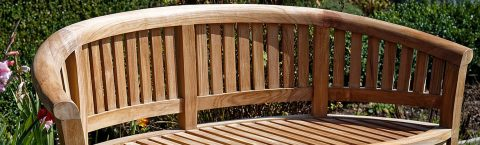 Beautiful Wooden Garden Furniture Whitley Bay UK