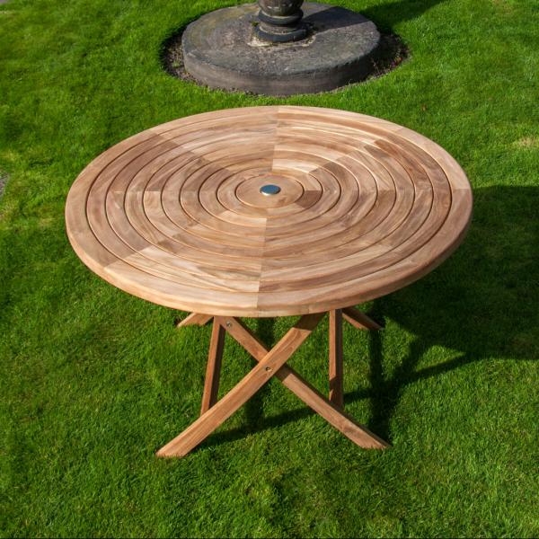 teak ripple coffee table