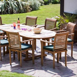 teak garden furniture Redcar